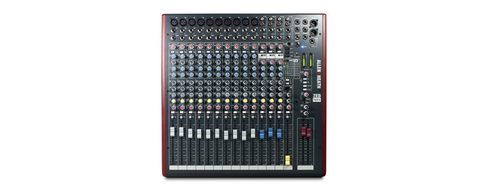 Mixer Allen heath 16FX