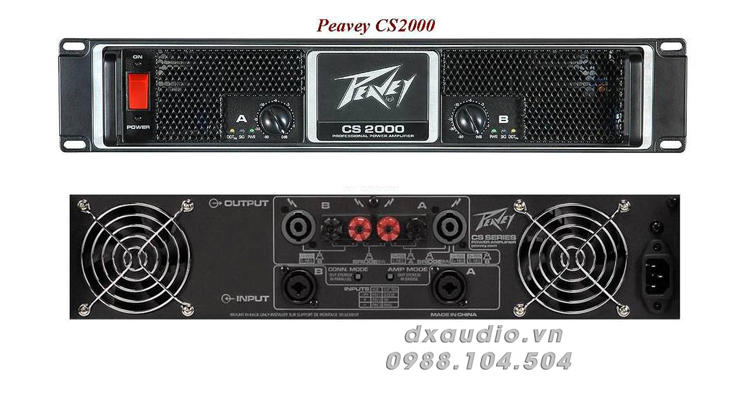cuc day peavey cs2000 thong so ki thuat