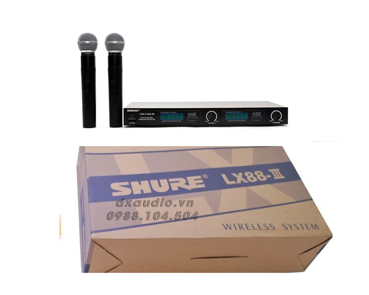micro shure lx 88iii thong so ki thuat