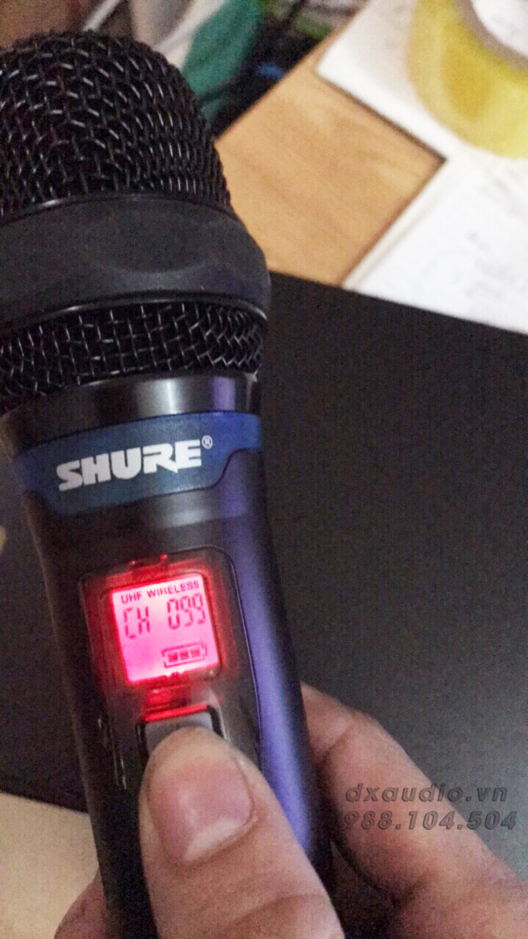 micro shure ur28dplus thong so ki thuat