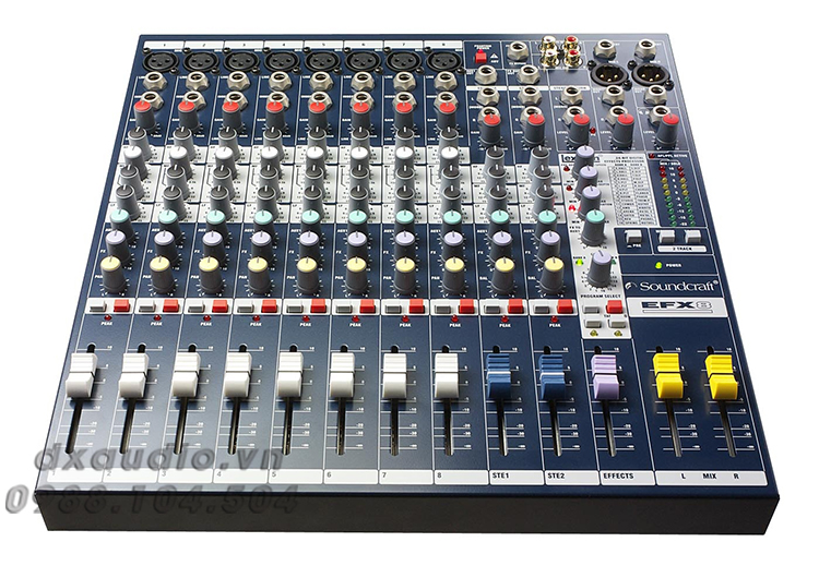 mixer soundcraft efx8 1