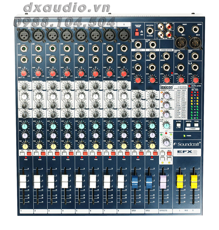 mixer soundcraft efx8 2
